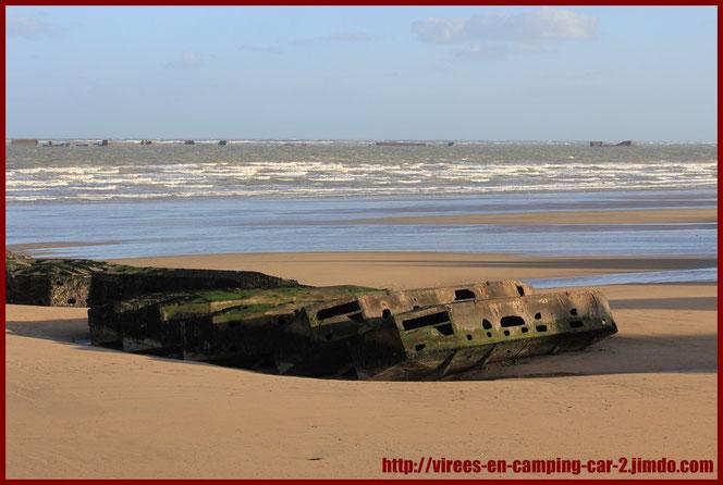 © virees en camping car Normandie