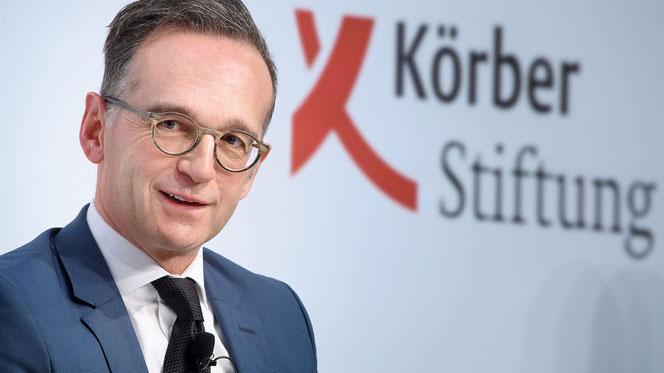 Bundesaußenminister Heiko Maas beim Berliner Forum Außenpolitik 2020 (Fotos (4): David Ausserhofer)