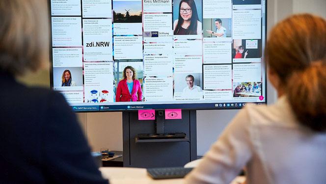 Auch im digitalen Raum »Nachhaltig vernetzt«