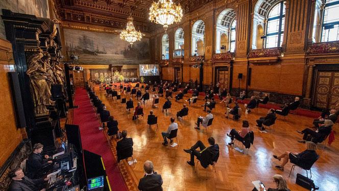 Preisverleihung am 7. September 2020 im Hamburger Rathaus (Foto: David Ausserhofer)