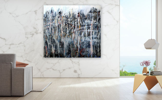 figurative Malerei, Menschen, Figuren, Moderne Malerei, Spachtel Gemälde, Kunst,  XXL, gespachtelt,  Moderne Gemälde, gespachtelt, zeitgenössische Malerei, Kunst, Kunstmalerei, Galerie, hochwertige Gemälde, Modern, Abstrakt,