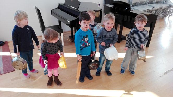 Thema der Unterrichtsstunde: Instrumentenküche