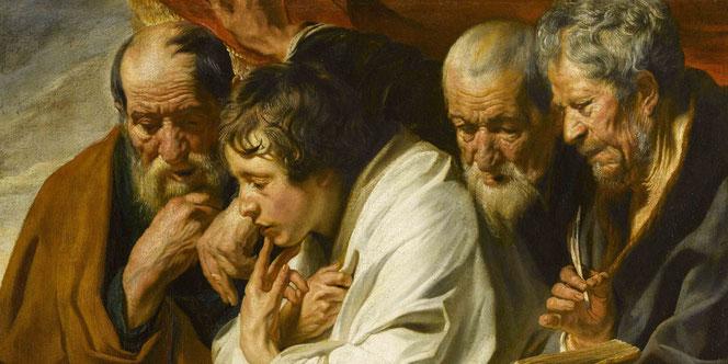 Hans Jordaens, Evangelisten