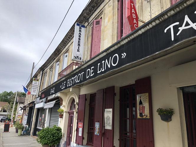 Le bistrot de Lino est implanté en plein coeur du bourg de Belin