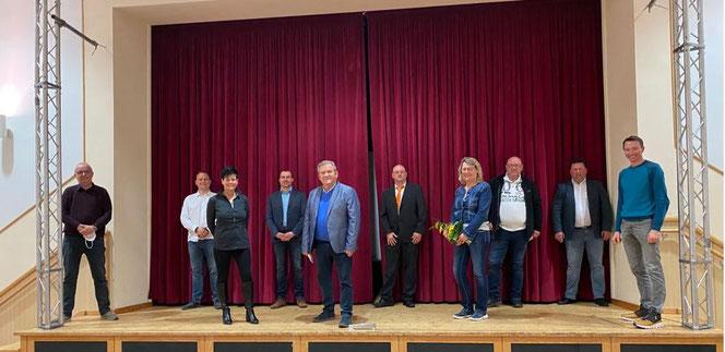 Am 19.03. trafen sich im Stadtilmer Bärsaal 10 Mitglieder der Bundesvereinigung FREIE WÄHLER um den Kreisverband Ilm-Kreis zu gründen.