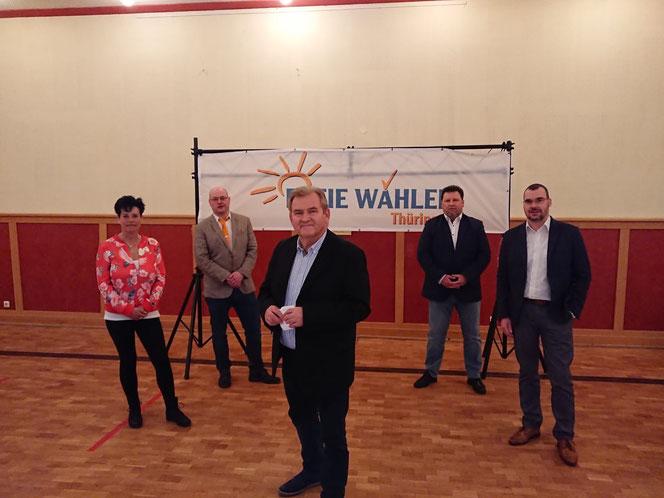 Auf der Mitgliederversammlung der FREIEN WÄHLER THÜRINGEN nahmen auch Vertreter aus dem Ilm-Kreis teil.