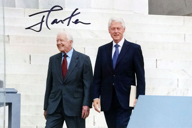 Autogram US President Jimmy Carter Autograph