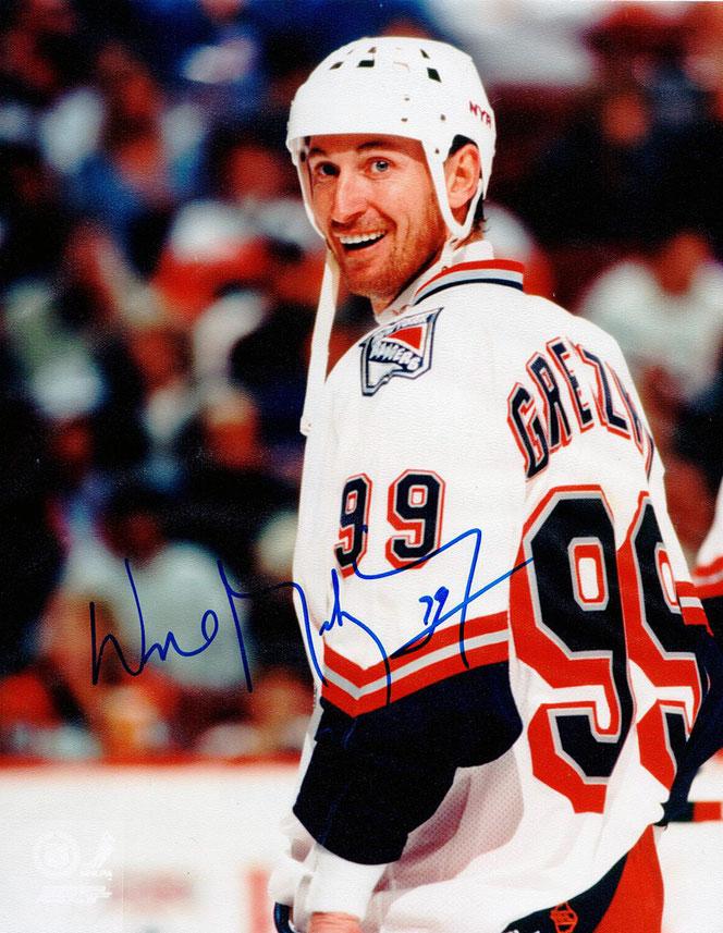 Autogramm Wayne Gretzky Autograph