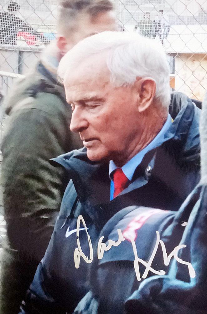 Autograph Dave King Autogramm