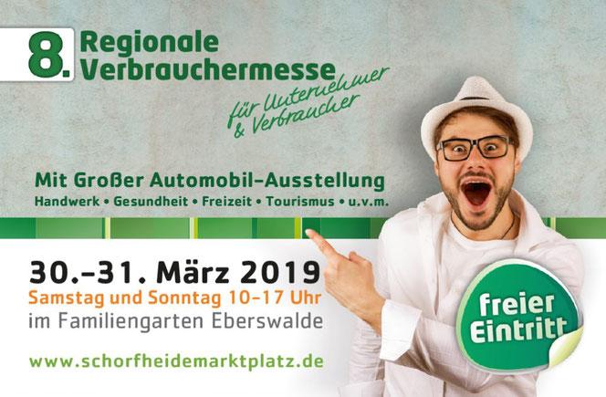 Bestattungshaus Eberswalde Finow Deufrains Verbauchermesse 2019 Schorfheide