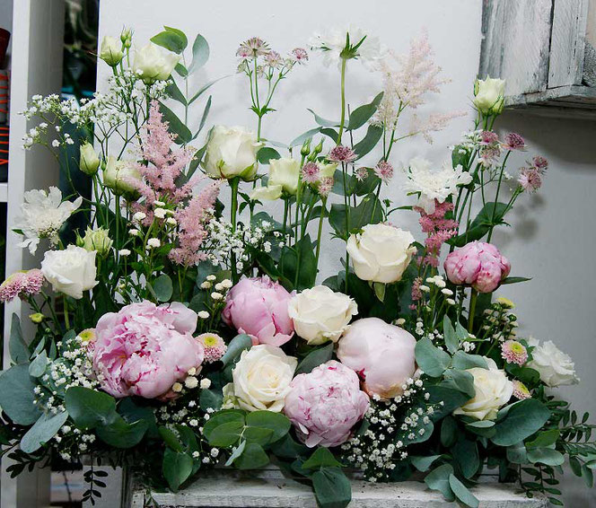 Blumendeko Hochzeit Wien bestellen
