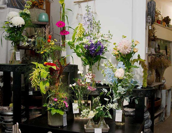 Blumenstrauß im Blumengeschäft Flowercompany Wien