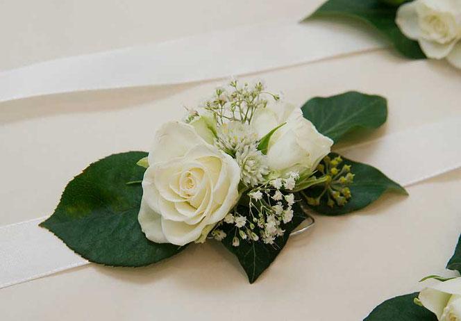 Corsage Blumen Hochzeit Wien