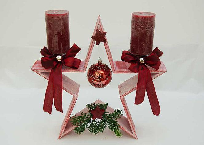 Weihnachtsdekoration Stern