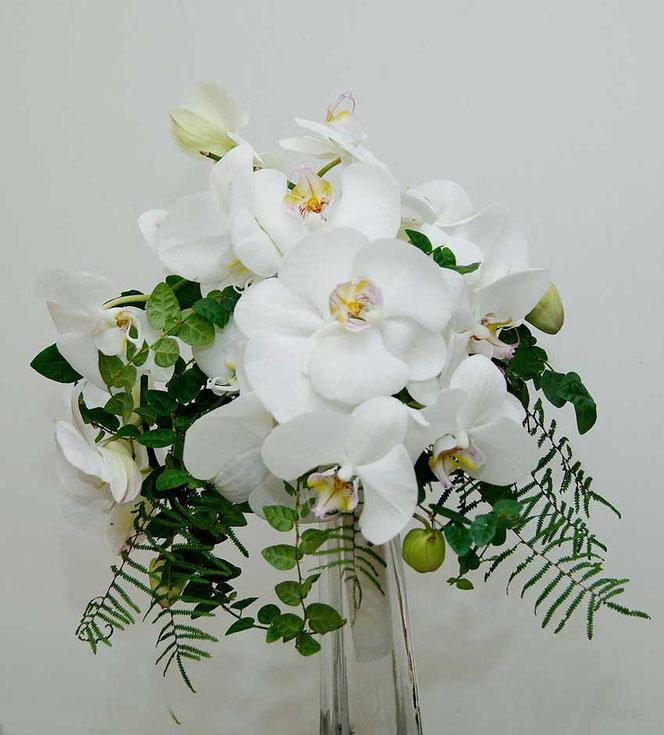 Brautstrauß mit Orchideen Flowercompany Wien