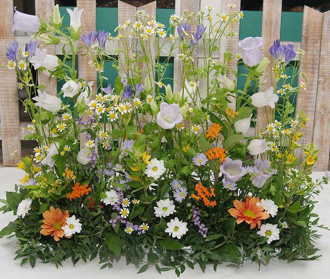 Blumendeko Wiesenblumen