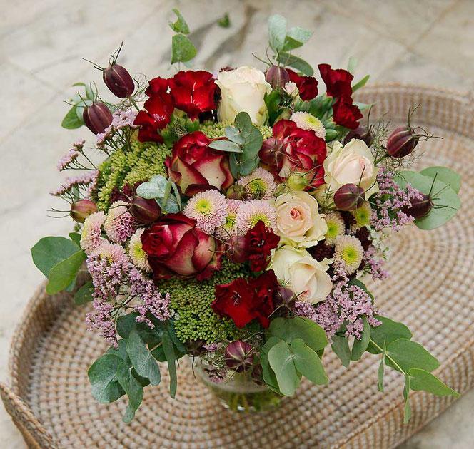 wedding bouquet vintage style