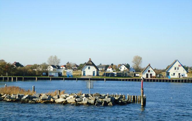 Insel Hiddensee Hafen Neuendorf