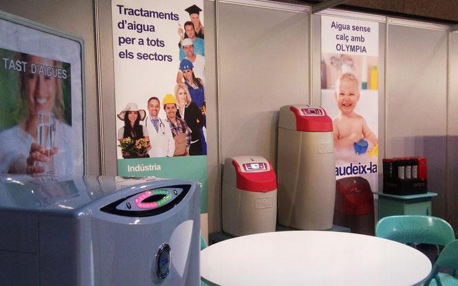 Exposició dels productes de Grup Corsa a l'stand de la Fira Exproreus 2015