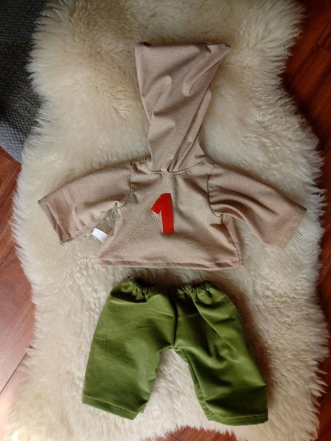 Puppenkleiderset, Puppenjungenkleiderset