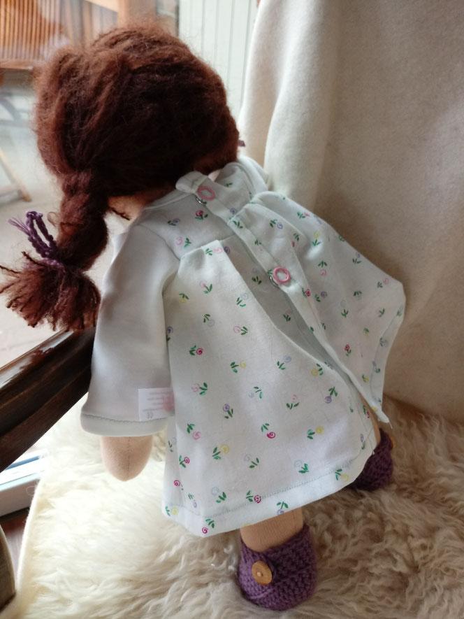 handgemachte Stoffpuppe; individuelle Puppe passend zum Kind; Waldorfart; Wunschpuppe;  Puppenfreundin; Puppenhandwerk; ökofair; Naturmaterial; ökofairliebt; Bio-Stoffpuppe
