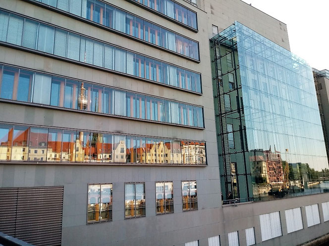 Berlin, Spiegelung Nikolaiviertel