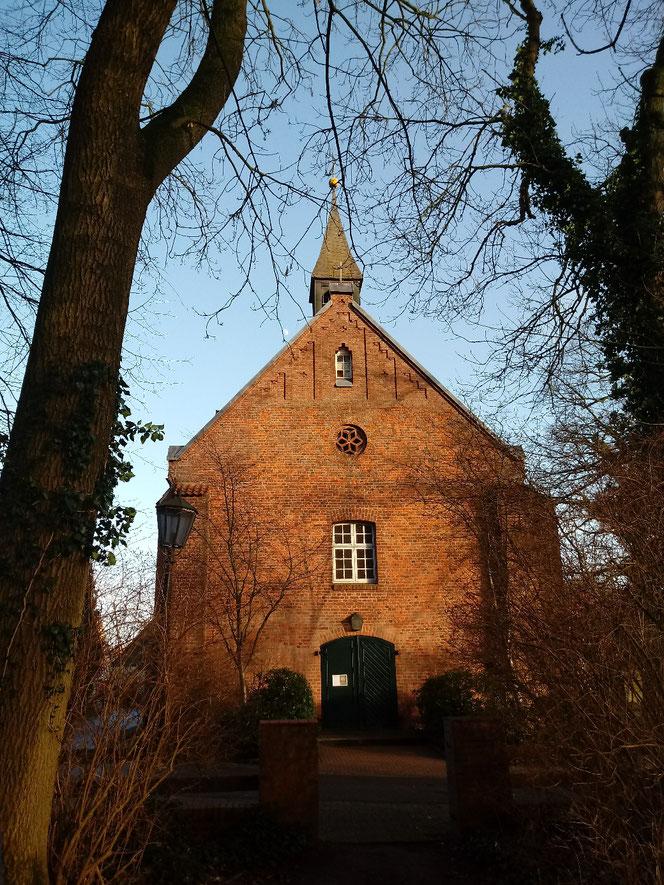 Himmelpforten, Kirche, Christkinddorf Himmelpforten