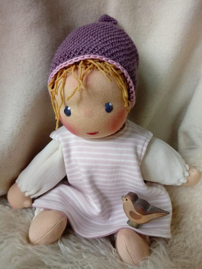 Puppenhandwerk, erste Puppe, Waldorfart, Schlamperle, handgemachte Stoffpuppe, ökofair, Wunschpuppe, ökofairliebt, individuelle Puppe, Puppe passend zum Kind, Puppenfreundin