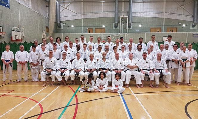 Matsubayashi Ryu Taikai 2019 in Eastbourne / England