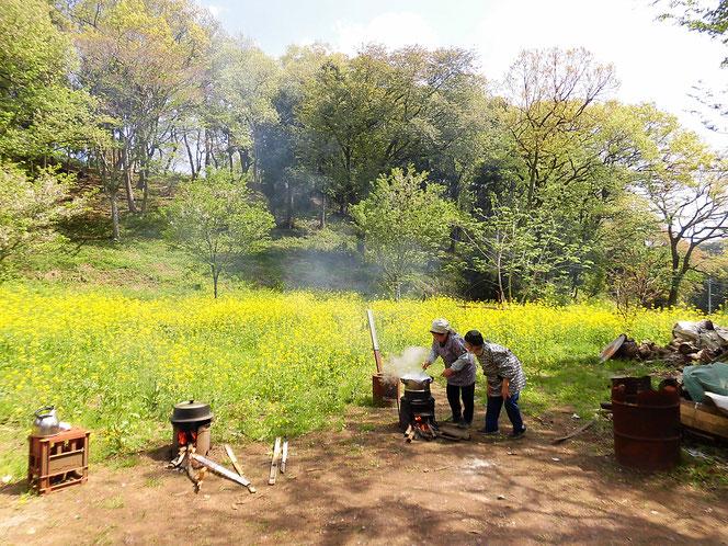 米沢の森 内田未来楽校 花まつり
