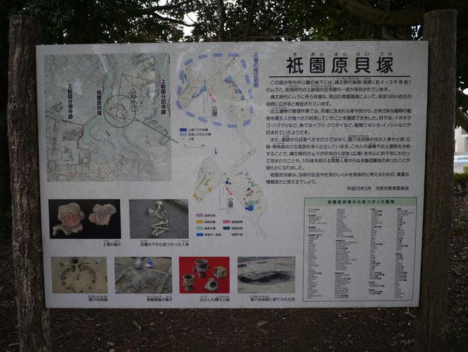祇園原貝塚 国分寺中央公園