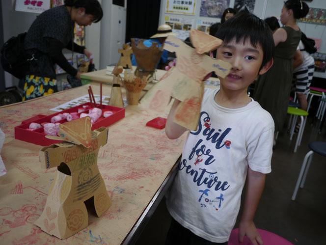 加曽利貝塚博物館 土偶 クラフト