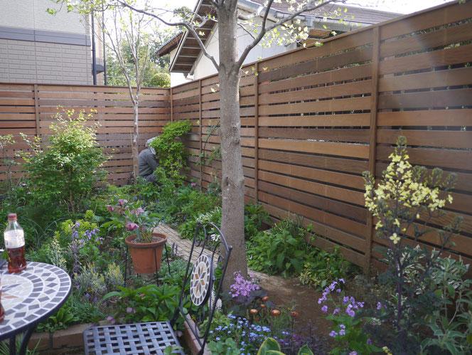 武田屋作庭店 板塀 木柵 ウッド フェンス