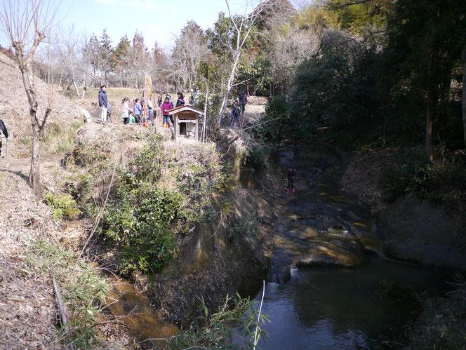 米沢の森 内田未来楽校 桜 植樹 宿 桜川 お不動様 市原