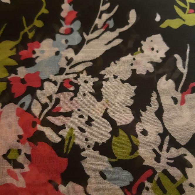 tissu mousseline pour impression numérique