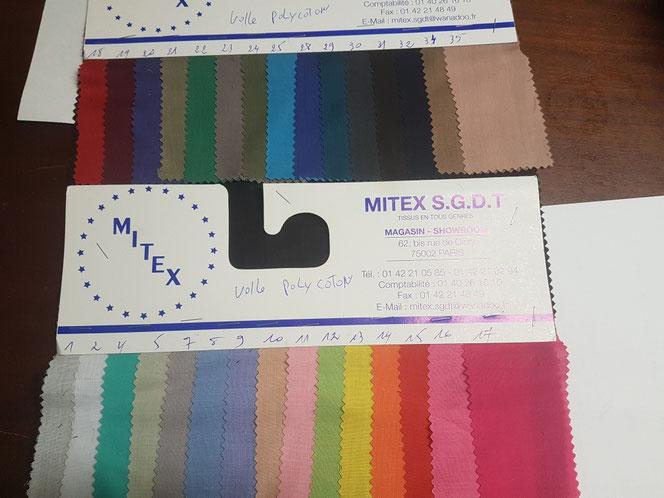tissu coton pour doubler un tissu wax / africain