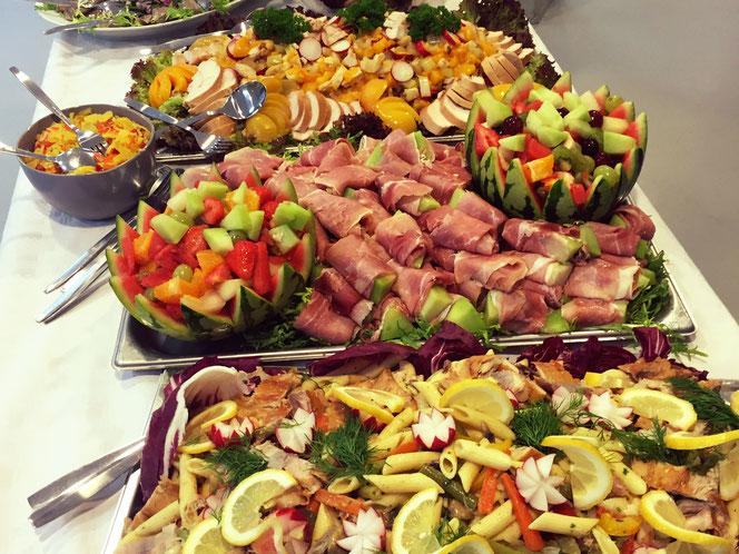 Cateringkoerier koud buffet