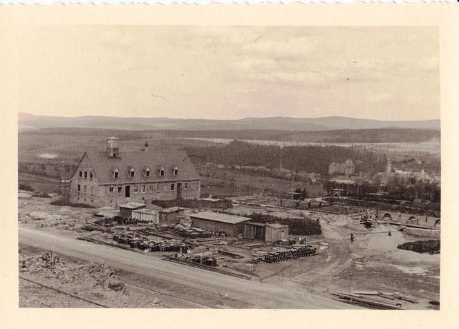 Bau der Autobahnmeisterei Idstein 1940, Staßenmeisterei idstein