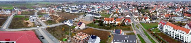 Neubaugebiet Südwest Griesheim (November 2020)
