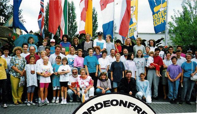 Der Vereinsausflug in den Europapark Rust 1992 fand großen Anklang