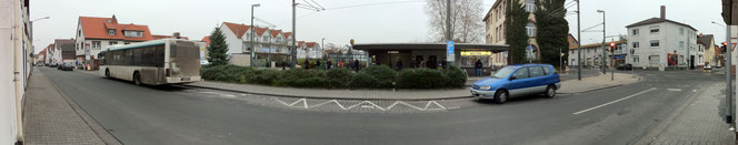 Haltestelle Platz Bar-le-Duc vor dem Umbau