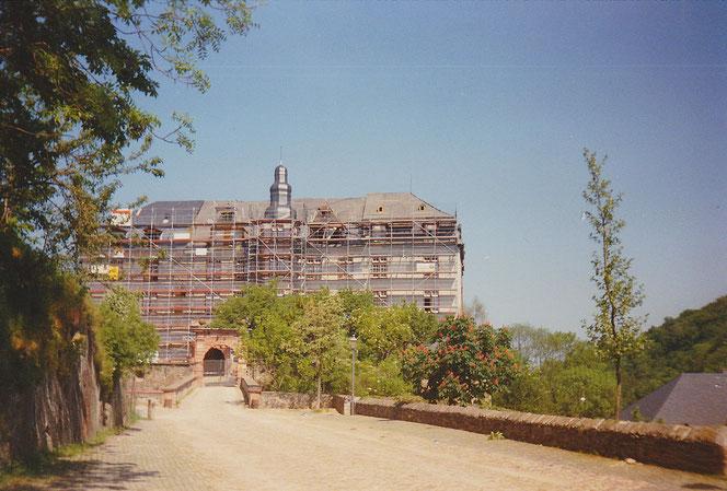 Schlossrenovierung 1990
