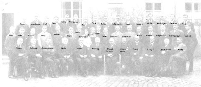 Belegschaft 1929