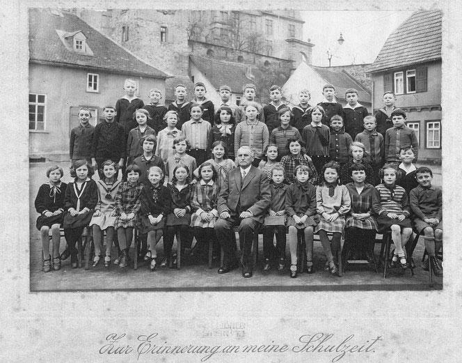 Ein Klassenfoto von 1930 (Jahrgang 1919/1920)