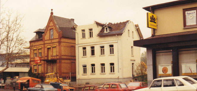 Abriss Haus Tappeh Ende der 60er Jahre