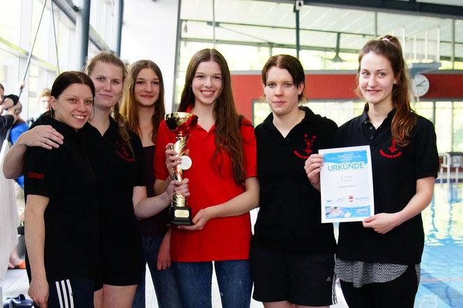 4. Aquahaus Cup Sieger Soester Haie Damen 1 CT14