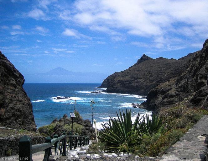 ...ereichen wir schließlich die Playa de La Caleta