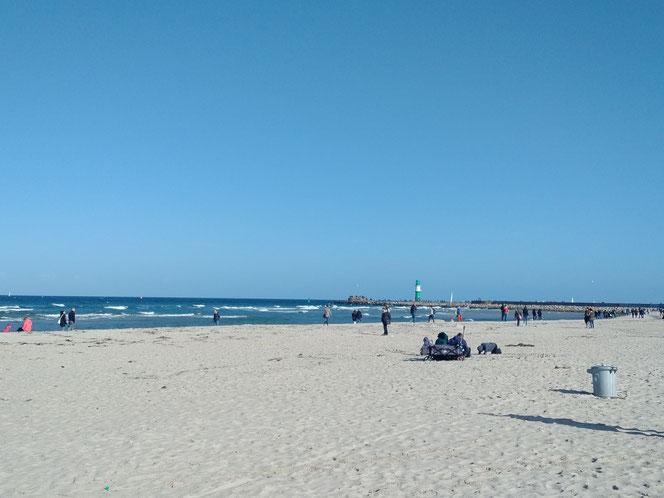 Strand Warnemünde Oktober 2017