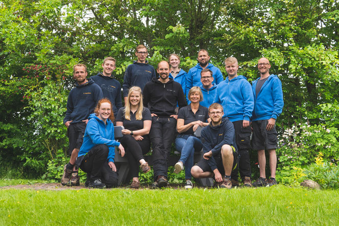 Mitarbeiter der Tischlerei Sönke Dethlefsen