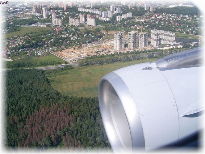 Berlin Tegel - Moskau Vnukovo  12.08.2010 -12